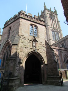 The Church of St Laurence, Ludlow