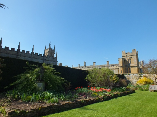 Sudeley Castle and St Mary's from The Secret Garden