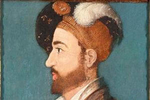 A portrait, believed to be of Richard de la Pole