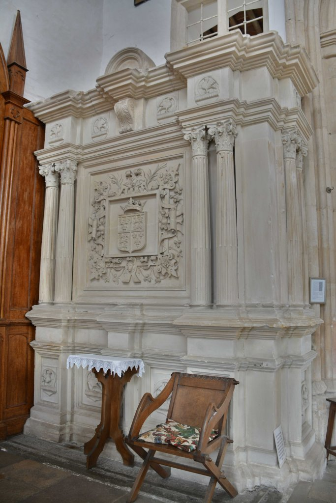 Edward, 2nd Duke of York's tomb at Fotheringhay