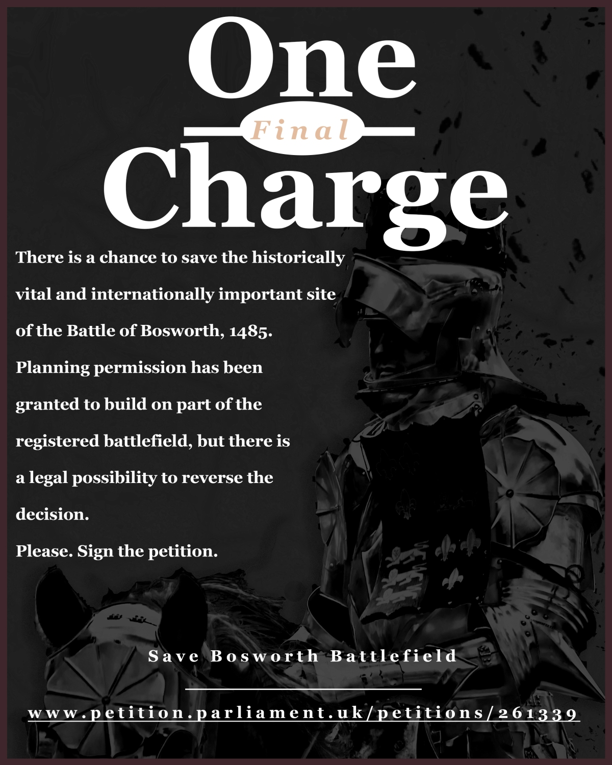 Bosworth Petition Poster 190617