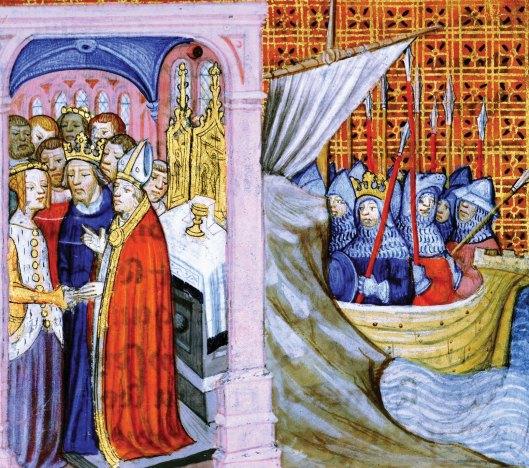 Eleanor-of-Aquitaine-Louis-VII-Second-Crusade Britannica